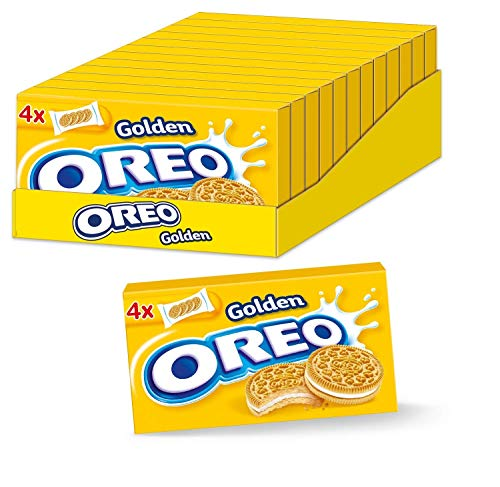 OREO Golden Box 12 x 176g, Doppelkeks mit Crème-Füllung