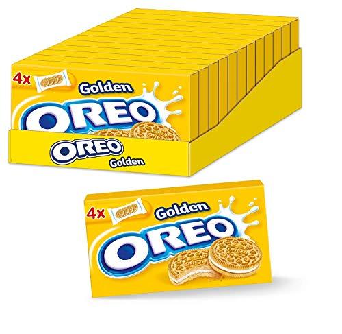 OREO Golden Box 12 x 176g, Doppelkeks mit veganer Crème-Füllung