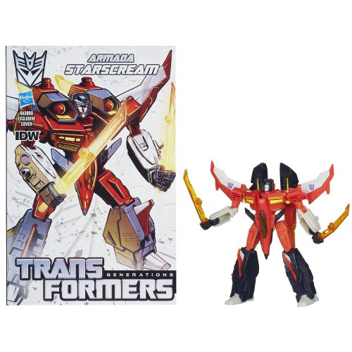 Transformers Generations Deluxe Starscream Action Figure