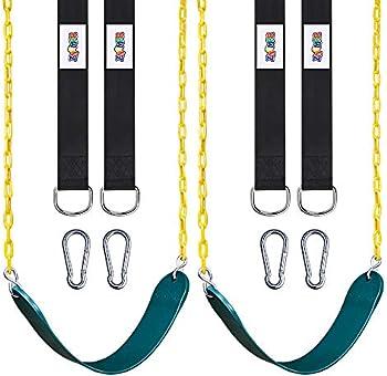 2-Pack Swings Seats Heavy Duty with 66