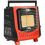 LLDKA Calentador Flameout Protectora, Calentador de Gas Estufa portátil Calentador de Camping Gas...