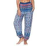 XUNN Pantalones de deporte para mujer, muy suaves, para yoga, yoga, pilates, elásticos, con bolsillos, azul claro, XXL