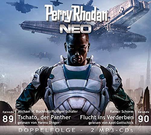 Perry Rhodan NEO MP3 Doppel-CD Folgen 89 + 90: Tschato, der Panther; Flucht ins Verderben