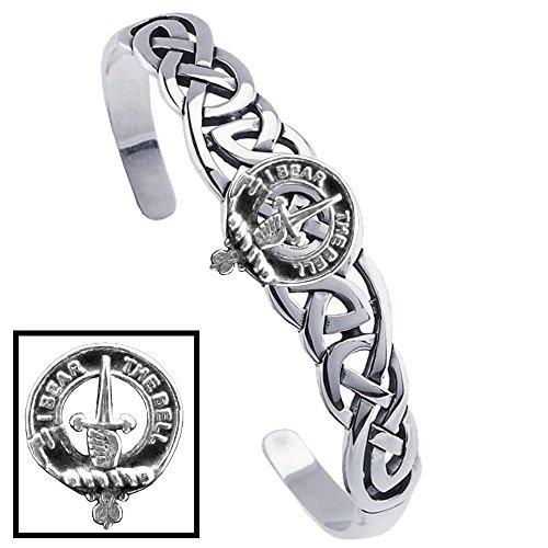 Bell Clan Celtic Cuff Bracelet