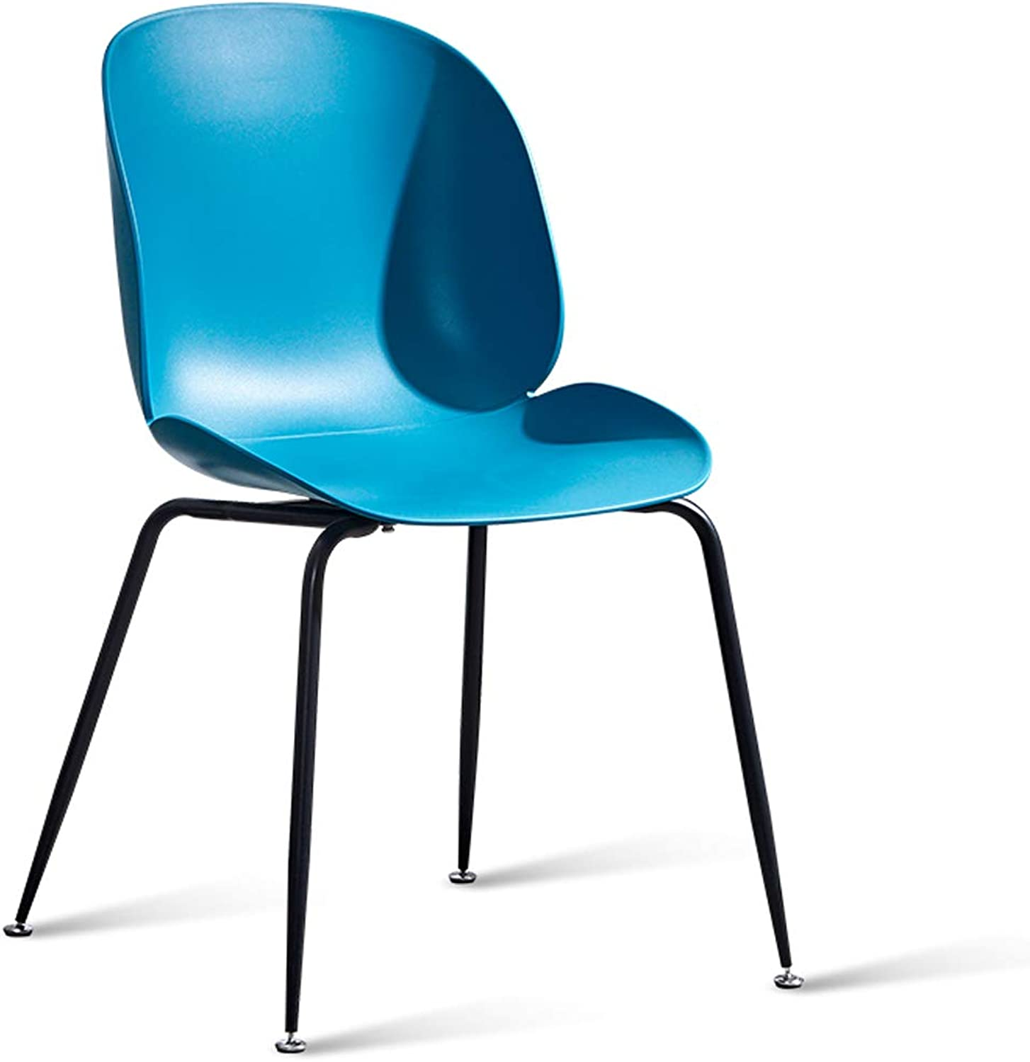 LRW Nordic Chairs, Modern Dining Chairs, Home Desks, Chairs, Leisure Backrest Stools, bluee