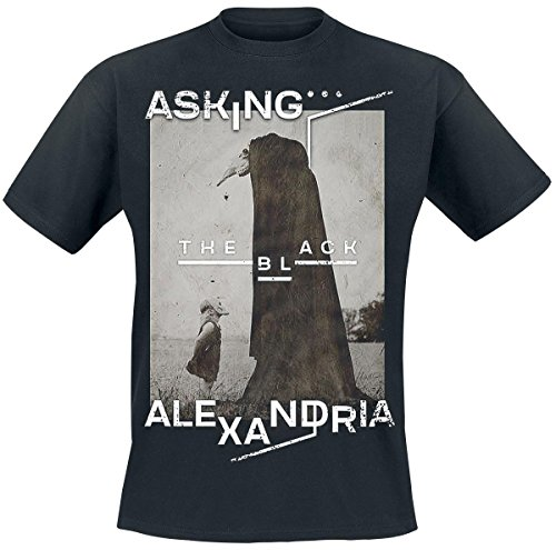 Asking Alexandria The Black T-Shirt schwarz M