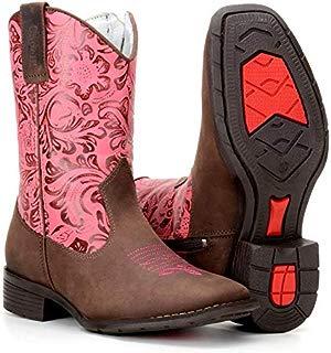 Bota Country Texana Infantil Feminina Rodeio Capelli