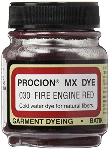 Deco Art Jacquard Procion MX Dye, 2/3-Ounce, Fire Engine Red (PMX-1030)