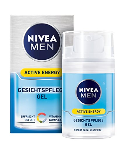 Nivea Men Active Energy Gesichtspflege Gel im 1er Pack (1 x 50 ml)