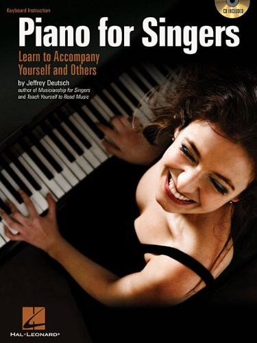 Jeffrey Deutsch Piano For Singers Learn To Accompany Yourself Bk/Cd
