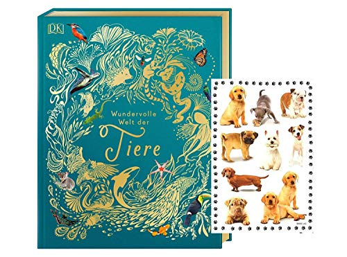 DK Verlag Maravilloso mundo de los animales: un libro de imágenes de animales para toda la familia + pegatinas infantiles.