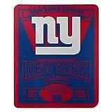 The Northwest Company NFL New York Giants 'Marque' Fleece Throw Blanket, 50' x 60' Blue