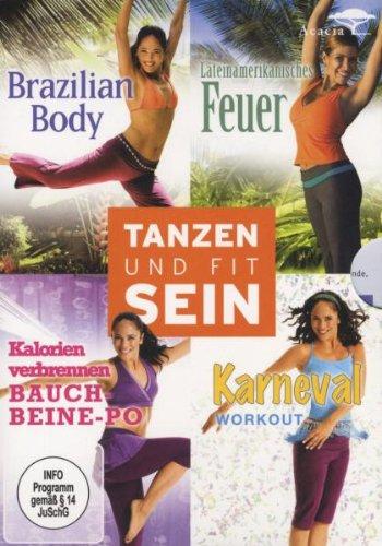 Tanzen und fit sein - Box [4 DVDs]