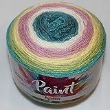 Lanas Katia Paint Ovillo de Color turqui