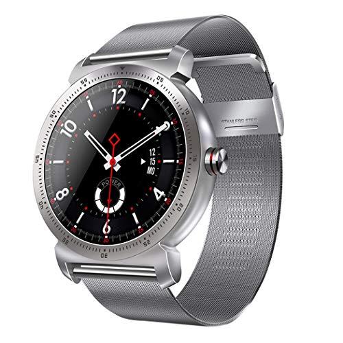Kimilike Smartwatch, voor K88H Plus IPS touchs screen fitness horloge Bluetooth Call fitness tracker sporthorloge met stappenteller hartslagmeter stopwatch voor dames heren smartwatch voor iOS en Android mobiele telefoons