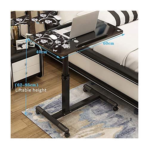 ALBBMY Mobiler Schreibtisch Laptoptisch Groß Höhenverstellbar Mobiles Rednerpult Mit Rollen Zum Bremsen Für Notebook (Color : Style14)