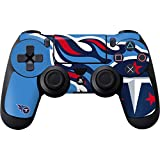 Skinit Decal Gaming Skin Compatible with PS4 Controller - Officially Licensed NFL Tennessee Titans Large Logo Design