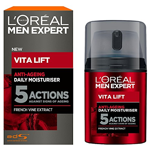 L'Oreal Paris Men Expert Vita Lift 5 Daily Moisturiser 50ml, 1.7 Fl Oz