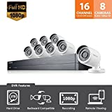 SDH-C75083 - Samsung Wisenet 16 Channel Full HD Video All-in-One Security System...
