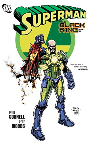 Superman The Black Ring TP Vol 02: The Black Ring Vol. 2 (Superman (DC Comics))