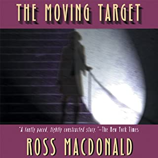 The Moving Target audiobook cover art