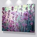 N / A Arte Moderno de la Lona Hermosa Flor púrpura decoración de la Pared...