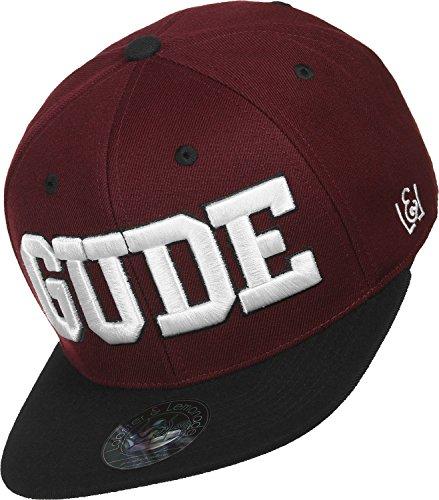 GUDE Snapback GUDE maroon One size
