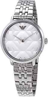 Emporio Armani Women's Two-Hand Stainless Steel Watch AR11213