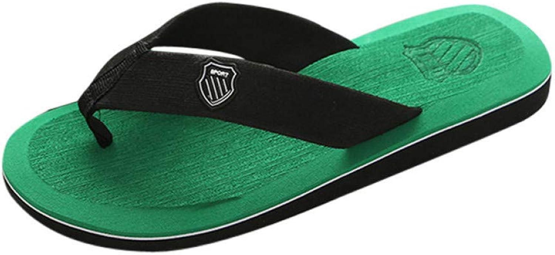 QRETYSG flip flop Summer Men Flip Flops Male Mixed color Slippers Men Casual PVC EVA shoes Summer Fashion Beach