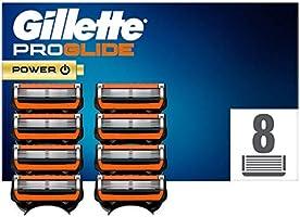 Gillette ProGlide Power Scheermesjes Voor Scheermes handvat Voor Mannen, 8 Stuks
