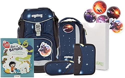 ergobag pack Ranzenset Galaxy Edition mit Gratis Superbuch Bea BAHADIR KoB ikus