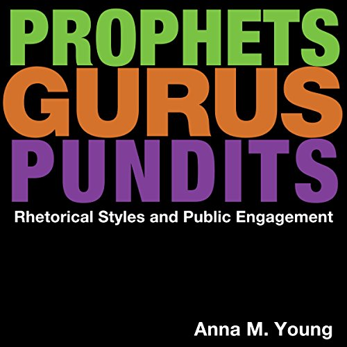Prophets, Gurus, and Pundits audiobook cover art