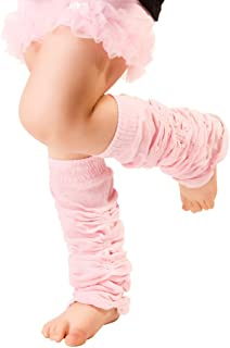 Huggalugs Baby and Toddler Girls Lollipop Stripe Legwarmers