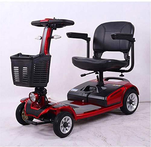 Leichte Faltbare Elektro-Rollstuhl 4-Rad-Elektro-Roller/tragbare motorisierte Roller ältere Roller...