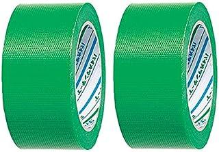 ダイヤテックス パイオランクロス 養生用テープ 緑 50mm×25m Y-09-GR [マスキングテープ] (2巻入り)