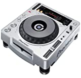 Pioneer CDJ-800 MK2 - Unidad de CD (115 Db, MP3, 0.006%, 4-20000 Hz, 12 & 8cm, Azul) Plata