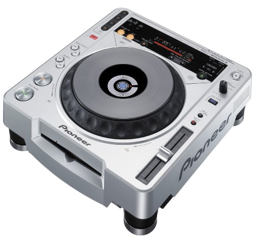 Pioneer CDJ-800 MK2 - Unidad de CD (115 Db, MP3, 0.006%, 4-20000 Hz,...