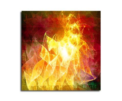 Moderne abstrakt045_60 x 60 cm sur toile motif abstrait intérieur décoration indémodable, 047