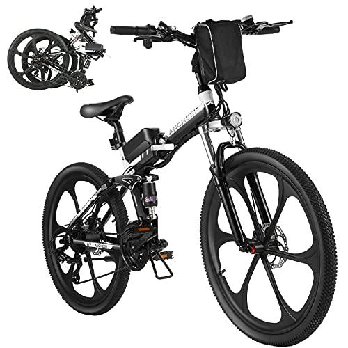 ANCHEER Bicicleta Electrica Plegable, Bicicletas Plegables A