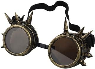 bronze steampunk goggles