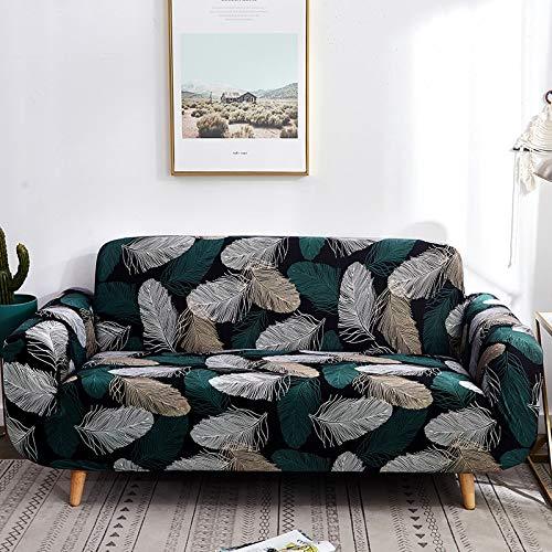 PPMP Funda de sofá de protección para Muebles, Utilizada en la Sala de Estar, Funda de sofá de Esquina, Funda de sofá, Funda de sofá elástica antiincrustante A22, 3 plazas