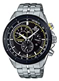 Casio Reloj Cronógrafo para Hombre de Cuarzo con Correa en Acero Inoxidable EFR-561DB-1AVUEF