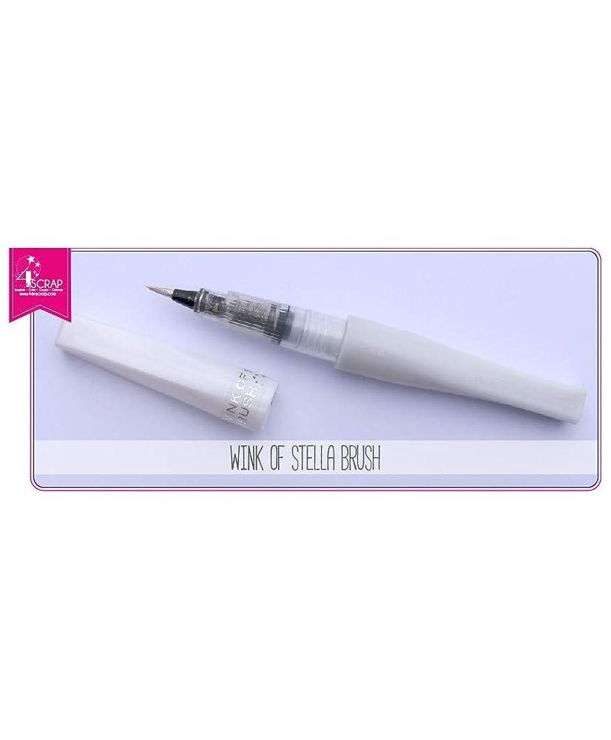 ZIG Wink of Stella Glitter Brush Marker Pen 999 Clear
