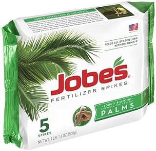 Jobe's 01010 5 Pack, 10-5-10, Palm Tree Fertilizer Spikes - Quantity 6