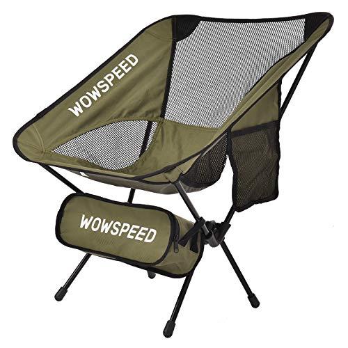 Silla De Camping Plegable, Ligera, Portátil Pesca Extremadamente con Bolsa para Exteriores, Pesca,