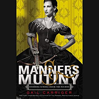 Manners & Mutiny                   Written by:                                                                                                                                 Gail Carriger                               Narrated by:                                                                                                                                 Moira Quirk                      Length: 9 hrs and 53 mins     3 ratings     Overall 5.0