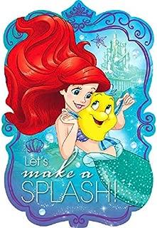 Postcard Invitations   Disney Ariel Dream Big Collection   Party Accessory