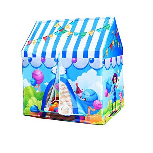 PROKTH Portable Children Tent,Club House Tent Kids Play Tents,Multi-Style Theme Tent, Christmas Theme, Candy, car, Children's Private Play Tent,Children Playhouse - 104x92x68cm