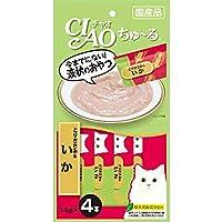【セット販売】チャオ ちゅ~る とりささみ&いか (14g×4本)×6コ