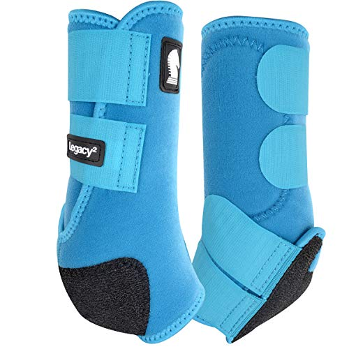 Legacy2 Front Protective Boots 2 pack M Turquoise